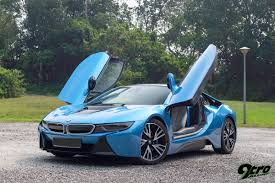 bmw supercar blue bmw i8 an exotic difference 9tro