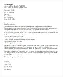 8 hair stylist cover letter templates sample example free