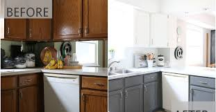 Kitchen Cabinet Repairs Fixer Upper Inspired Kitchen Redo Using Mostly Paint Hometalk