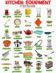 kitchen tools and equipment kitchen equipment kitchen vocabulary pinterest kitchen