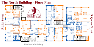 Floor Plan Of An Apartment The Cosmopolitan Luxury Apartments Philadelphia Rent Floor Plans