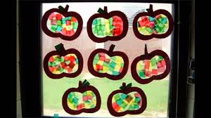 easy and simple diy apple crafts for kids youtube