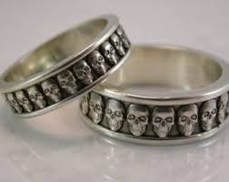 skull wedding ring sets mer enn 25 bra ideer om skull wedding ring på