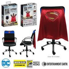 Entertainment Chair Justice League Movie Superman Chair Cape Con Excl