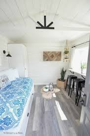 Oneroom by One Room Challenge The Modern Farmhouse Cottage Guest Shed Reveal