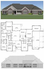 How Many Square Feet Is A 3 Car Garage by 17 Best House Plans 2000 2800 Sq Ft Images On Pinterest Square