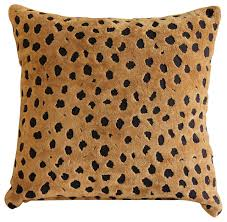 Cowhide Print Animal Print Decorative Pillows Houzz