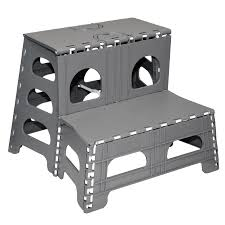 folding 2 step stool range kleen ss2 steps camping world