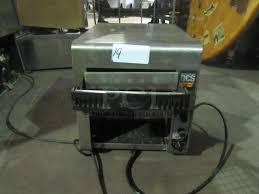 Holman Conveyor Toaster Pci Auctions Restaurant Equipment Auctions Commercial Auctions