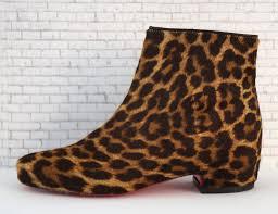 christian louboutin tounoir pony hair boots w tags 35 5 5