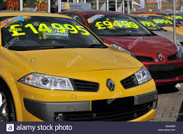 car renault price east london renault car dealer forecourt display of cars with