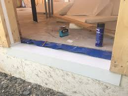 Flashing Patio Door by Building The Air Tight Barrier Door Flashing Details