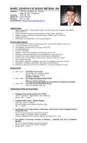Sample Resume Nurses by Sample Resume Nurses Without Experience