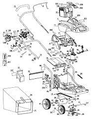 black u0026 decker lawn mower parts model cm1936type1 sears