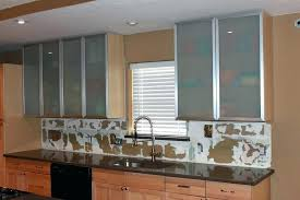 kitchen cabinet door ideas sliding glass cabinet doors kitchen awesome intended for 29