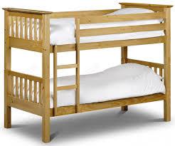 Julian Bowen Barcelona Barcelona Pine Bunk Bed - Pine bunk bed