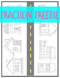 166 best fractions images on pinterest math activities math