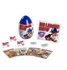 easter egg gum big league chew gum gumballs trading cards