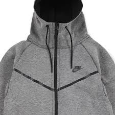 nike tech fleece windrunner hoodie carbon heather black u20ac 47 50