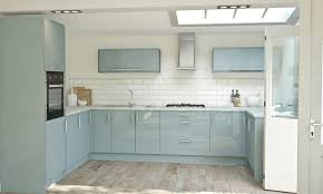 Kitchen Ideas Westbourne Grove Pacrylic Blue Quartz Gloss Kitchen Thumbnail 2 Kitchen Ideas
