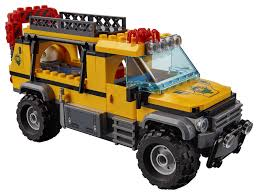 jeep lego lego city jungle explorers jungle exploration site 60161