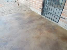 Tiling A Concrete Patio by Tucson Concrete Overlay Decorative Concrete Flooring Overlays