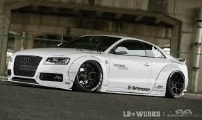 subaru liberty walk liberty walk develops crazy wide kit for audi a5 performancedrive