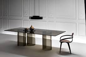 tavoli design cristallo tavoli di vetro di design livingcorriere