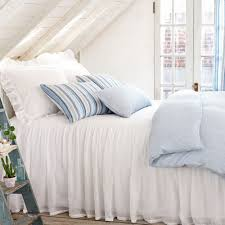 pine cone hill savannah linen gauze white bedspread ships free