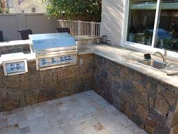 back yard built in bbq outdoor barbeque grills built in