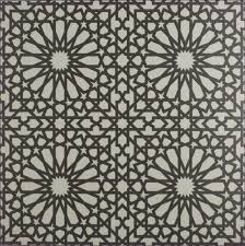architecture patterned ceramic floor tile borders and
