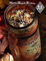witches new year glass vigil candle samhain halloween