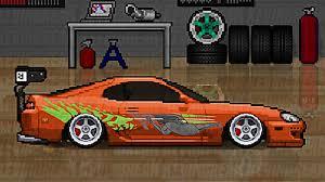 pixel art car my pixel car racer fan art pixel car racers