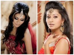 bridal hairstyle indian wedding women medium haircut