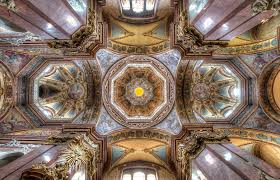 church ceilings these are the most breathtaking church ceilings in the world and