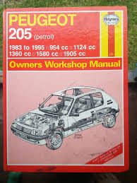 peugeot 205 haynes manual u2022 9 99 picclick uk