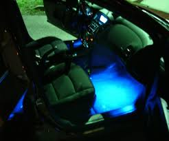 led interior home lights showy larger version added led light strips inside ac ford