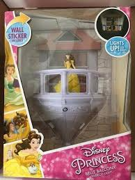 disney princess belle balcony 3d fx deco nightlight led light w