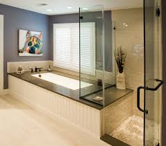 Master Bathroom Remodel by Transitional Bathrooms Designs U0026 Remodeling Htrenovations