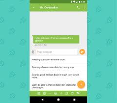 message android a new way to save time with text message templates on android