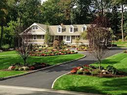 landscaping design ideas gravel driveway elaine m johnson landscape design centerville ma