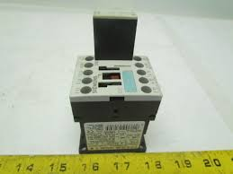 siemens 3zx1012 0rh11 1aa1 motor contactor relay 24vdc coil surge