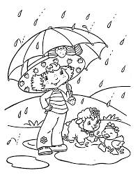 raining day coloring pages coloring home