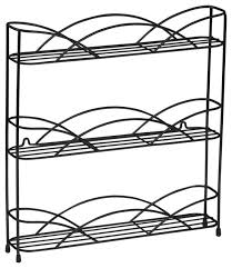 Contemporary Spice Racks Wall Mount Black Wire Spice Rack Contemporary Spice Jars And