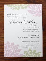 wedding rehearsal invitations floral and formal wedding rehearsal dinner invitations emdotzee