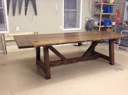 rustic farmhouse table by brianb1 lumberjocks com