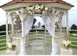 Outdoor Wedding Gazebo Decorating Ideas Diy Gazebo Wedding Decoration Ideas Build A Wedding Chuppah