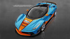 gulf car this is a laferrari in gulf livery top gear