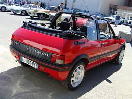 fotos peugeot 205 gti realmente precioso cars of 90 s and 80 s