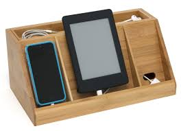Electronic Charging Station Desk Organizer Cell Phone Holders And Charging Stations Organize It